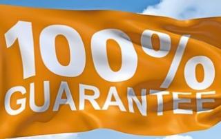 Garantien für befüllte Druckerpatronen: Wir garantieren, daß unsere Patronen so lange halten und in der gleichen Qualität drucken wie Originalpatronen