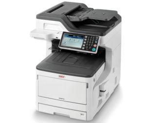 Den A3-Farbmultifunktionsdrucker Oki MC873dn bieten wir für € 1.736,– (MC873dnct für € 2.110,-- und MC873dnv für € 2.475,--). Zusätzlich erhalten Sie kostenlos zwei schwarze Toner für jeweils 7.000 Seiten. Angebot gilt bis zum 31.12.2017 solange der Vorrat reicht.