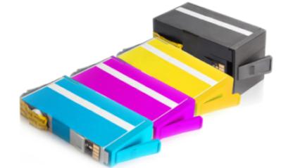 Befüllte Druckerpatronen HP934 und HP935