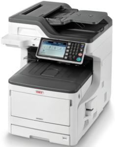 Den A3-Farbmultifunktionsdrucker Oki MC873dn für kleine und mittelständische Unternehmen bieten wir Ihnen aktuell für einen Preis in Höhe von € 1.939,-- statt regulär für € 2.990,--. Das bedeutet eine Ersparnis von 35%. Andere Ausstattungsvarianten bieten wir ebenfalls zu deutlich reduzierten Preisen an. So kostet der Oki MC873dnct (2. Papierfach und Unterschrank) derzeit nur € 2.145,50 statt € 3.300,-- und der Oki MC873dnv nur € 2.372,-- statt € 3.649,--. Das Angebot gilt bis zum 31.03.2020 und nur solange der Vorrat reicht.