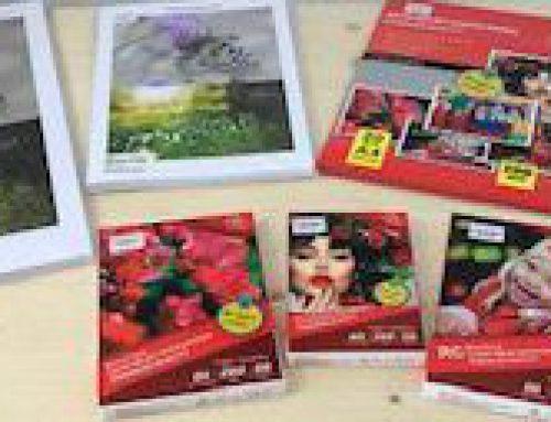 Neues Fotopapier im Angebot