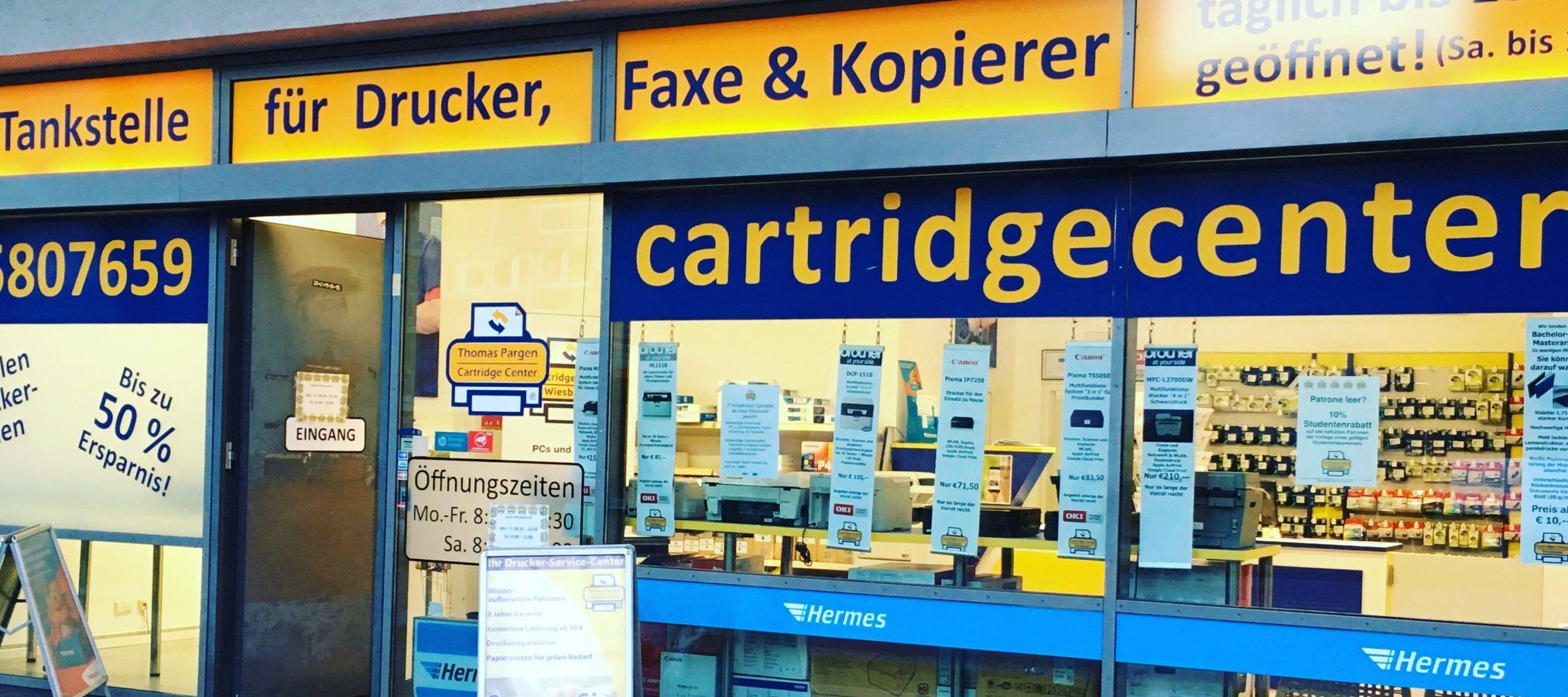Cartridge Center Wiesbaden - das Fachgeschäft rund ums Drucken in Wiesbaden