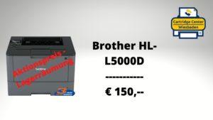 Brother HL-L5000D zum Sonderpreis, nur € 150,--